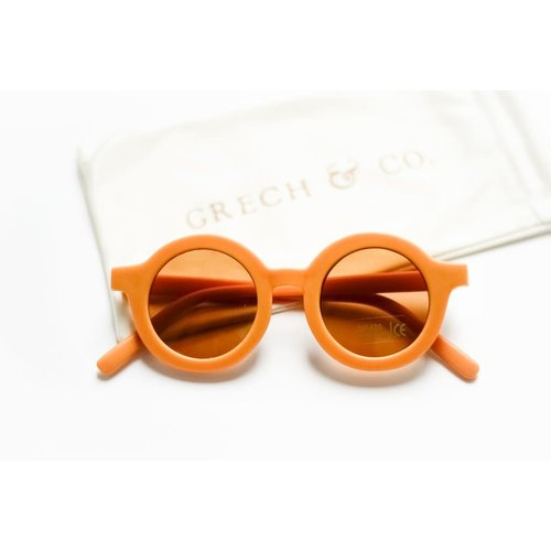 Grech & co Sustainable Kids Sunglasses - GOLDEN