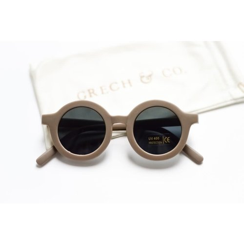 Grech & co sustainable Kids Sunglasses - STONE