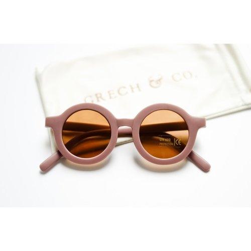 Grech & co Sustainable Kids Sunglasses - BURLWOOD