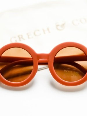 Grech & co Sustainable Kids Sunglasses - RUST