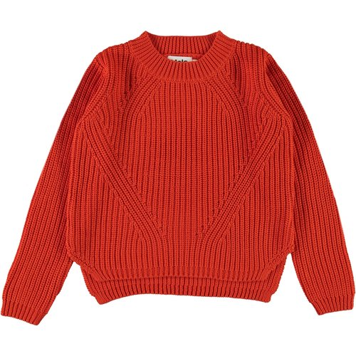 Molo Gillis rising sun knitted sweater