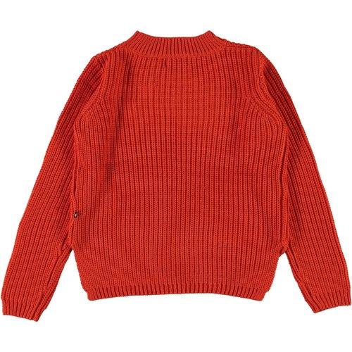 Molo Gillis rising sun knitted sweater