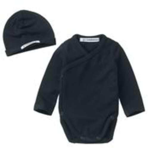mingo Newborn Set Black