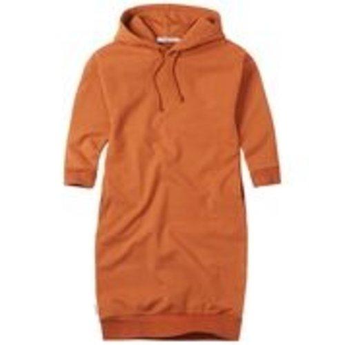 mingo Hoodie Sweater Dress Dark Ginger
