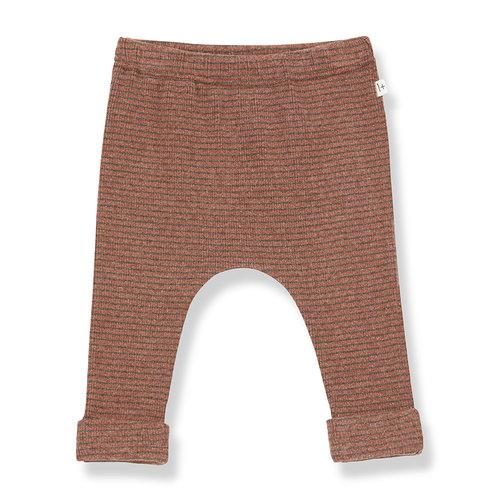 1+ in the family NUNAVUT leggings toffee/terrau
