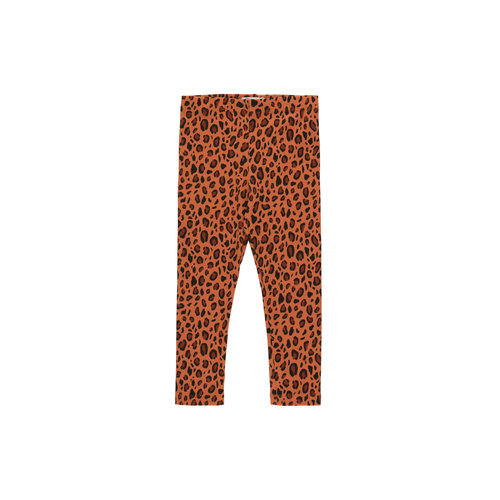 "Tiny cottons ""ANIMAL PRINT"" PANT sienna/dark brown"