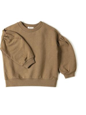 Nixnut Lux Sweater Olive