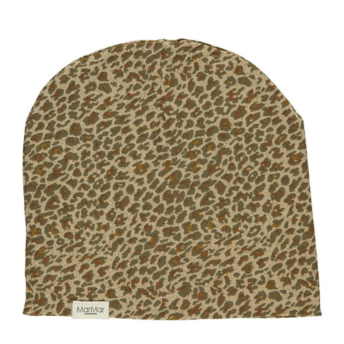 MarMAr CPH Leopard beanie  Leather Leo