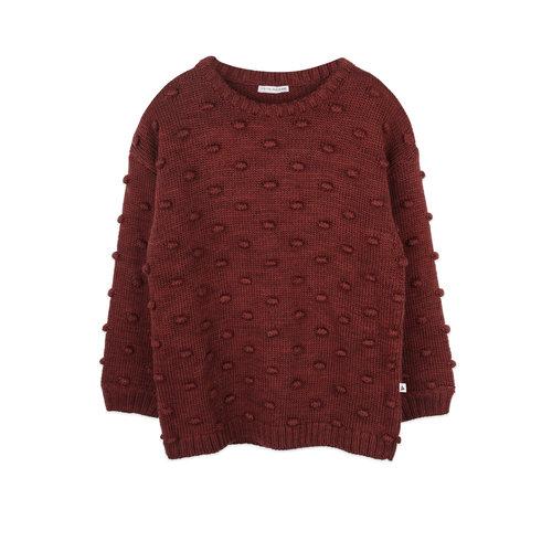 ammehoela Dottie Brick sweater