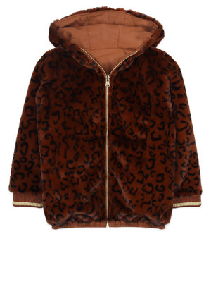 ammehoela Lola Brown-leopard winterjas