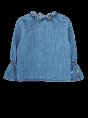 ammehoela Olived blouse Denim-Blue