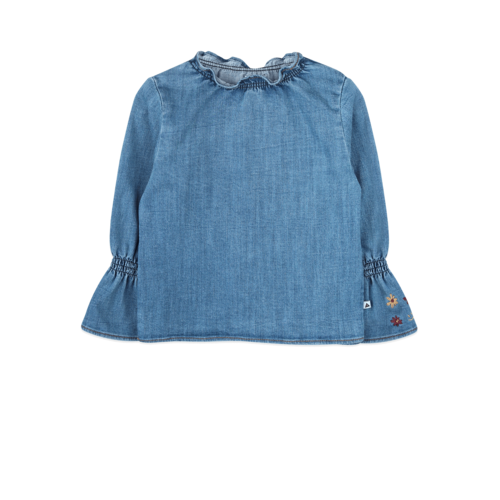 ammehoela Olived blouse Denim-Blue