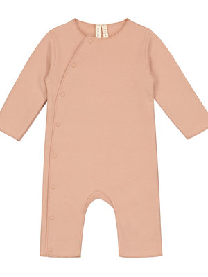 Gray label Baby Suit with Snaps Rustic Clay