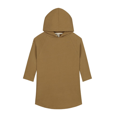Gray label Hooded Dress peanut