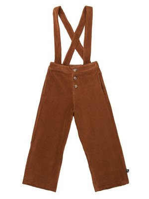 CarlijnQ Corduroy Culotte with straps