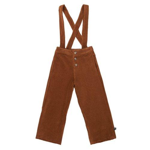 CarlijnQ Corduroy Culotte with straps