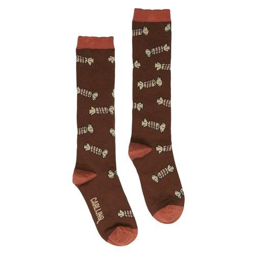 CarlijnQ Knee Socks - candy