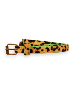 Scotch & Soda Leopard riem 158232