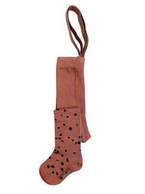 Maed for mini Brown Sahara Leopard AOP / Elastic tights