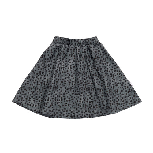 Maed for mini Lazy Leopard AOP / Short Skirt