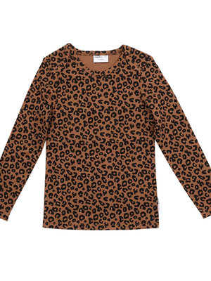 Maed for mini Chocolate leopard AOP / Longsleeve