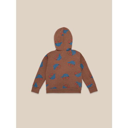 Bobo choses Boy all over sweatshirt caramel