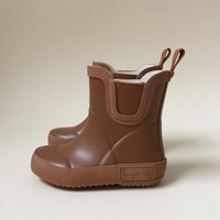 Welly rubber boots caramel