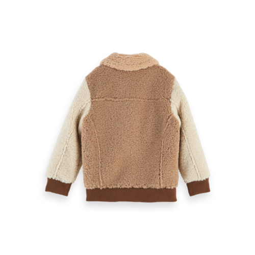 Scotch & Soda 157628 Teddy bomber jacket