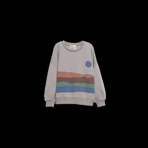 Wander & Wonder Desert Print Sweatshirtgrey
