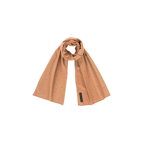 House of Jamie LONG SCARF Little Stars Mocca