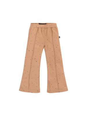 House of Jamie FLARED PANTS Little Stars Mocca