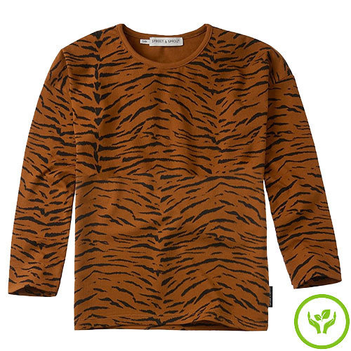 Sproet&Sprout Longsleeve print Tiger