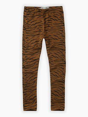 Sproet&Sprout Legging print Tiger caramel