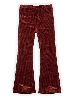 Sproet&Sprout Pants Velvet Flair W20-510Beet Maroon