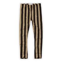 Pants Painted Stripe Black / Nougat aw20-506