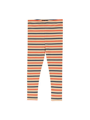 "Tiny cottons STRIPES"" PANT *cappuccino/light navy/red*"