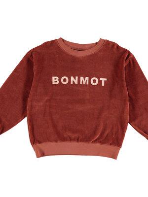 Bonmot Sweatshirt velvet bonmot