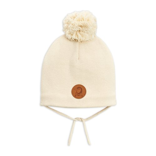 Mini rodini Pengui hat off white