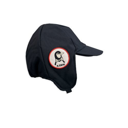 Mini rodini Alaska cap black