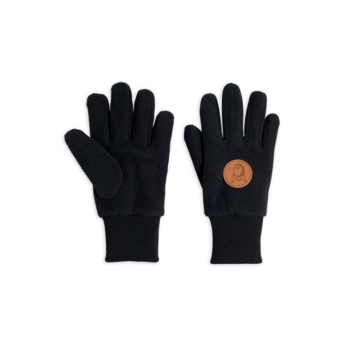 Mini rodini Fleece gloves black