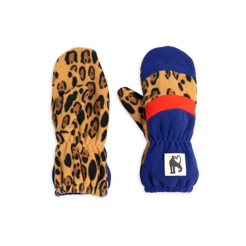 Mini rodini Fleece mittens stripe