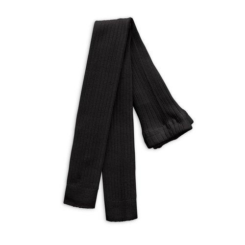 Mini rodini Ribbed leggings black