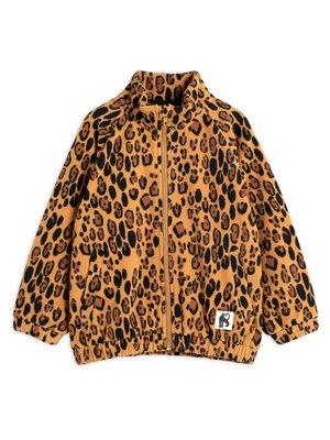 Mini rodini Fleece jacket leopard