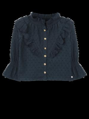 ammehoela Mia Deep-Blue blouse
