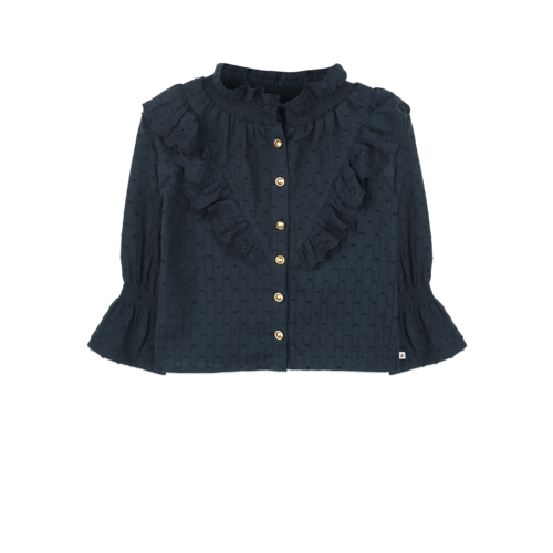 ammehoela Mia Deep-Blue blouse