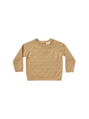 Quincy Mae Bailey Knit Sweater honey