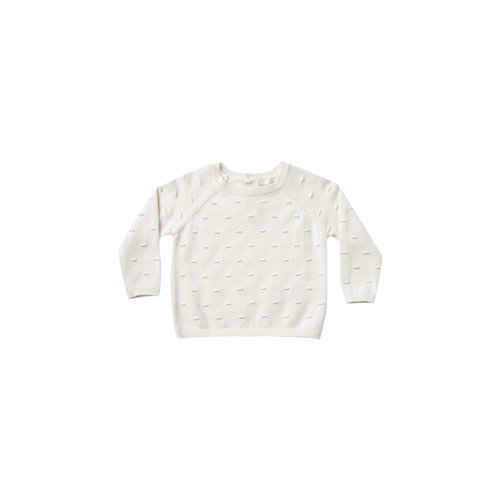 Quincy Mae Bailey Knit Sweater ivory