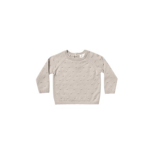 Quincy Mae Bailey Knit Sweater fog