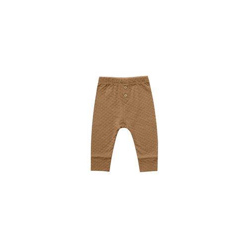 Quincy Mae Pointelle Pajama Pant Walnut