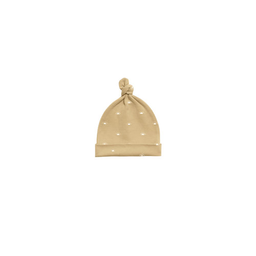 Quincy Mae Knotted Baby Hat honey